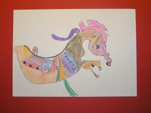 Calista's Horse (6 years old)